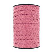 Cordão Encerado Trançado - Pink - 15mm - 50m