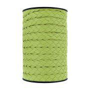 Cordão Encerado Trançado - Verde Cítrico - 15mm - 50m