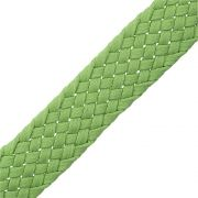 Cordão Encerado Trançado - Verde - 23mm - 25m