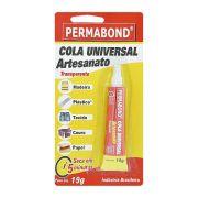 Cola Universal Artesanato Transparente - Permabond® - 19g