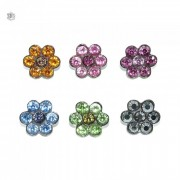 Piercing Flor para Chinelo com Strass - 16mm