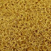 Argola de Metal - Dourado - 8mm - 250g