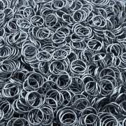 Argola de Metal - Grafite - 12mm - 250g