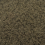 Argola de Metal Ouro Velho - 4mm - 250g