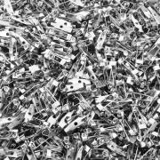 Base para Broche Níquel - 15mm - 100pçs