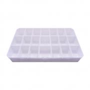 Caixa Organizadora Multiuso - Branco - 30cmx18cm