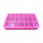 Caixa Organizadora Multiuso - Pink - 30cmx18cm