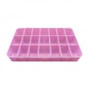 Caixa Organizadora Multiuso - Rosa - 30cmx18cm