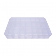 Caixa Organizadora Multiuso - Transparente - 30cmx18cm