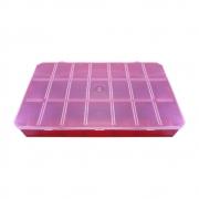 Caixa Organizadora Multiuso - Vermelho - 30cmx18cm