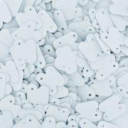 Cartela para Brinco - Branco - 1.8cmx1.5cm - 1000pçs
