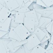 Cartela para Brinco - Branco - 3cmx2.2cm - 1000pçs