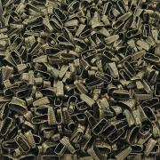 Charneira - Contra Argola - Ouro Velho - 11mm - 100pçs