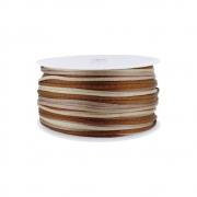 Cordão de Seda Acetinado - Color Mix Marrom - 2mm - 50m
