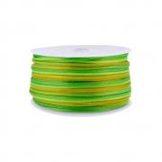 Cordão de Seda Acetinado - Color Mix Verde - 2mm - 50m
