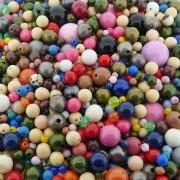 Entremeio Bolinha de Plástico - Variado - 250g