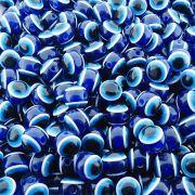 Entremeio Bolinha Olho Grego de Plástico - 12mm - 100pçs