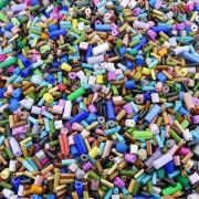Entremeio Canutilho de Plástico - Variado - 250g