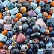 Entremeio Conta de Cerâmica - Variado - 250g