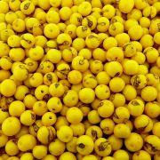 Entremeio Conta de Semente Natural - Açaí - Amarelo - 8mm - 1000pçs