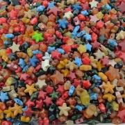 Entremeio Estrela de Plástico - Variado - 250g