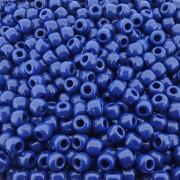 Entremeio Miçangão de Plástico - Azul Royal - 8mm - 250g
