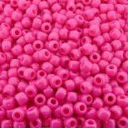 Entremeio Miçangão de Plástico - Pink - 8mm - 250g