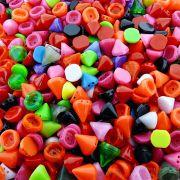 Entremeio Spike de Plástico 2 Saídas - Variado - 100g