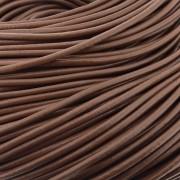 Fio de Couro - Chocolate - 3mm - 10m