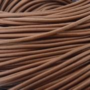 Fio de Couro - Marrom Claro - 1.5mm - 10m