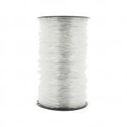 Fio de Silicone - Transparente - 2mm - 50m
