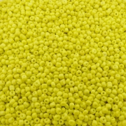 Miçanga 6/0 - Amarelo - 250g