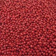 Miçanga 6/0 - Vermelho Carmim - 250g