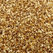 Pino Chupeta - Dourado - 6mm x 8mm - 100pçs