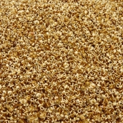 Pino Chupeta - Dourado - 4mm x 7mm - 100pçs