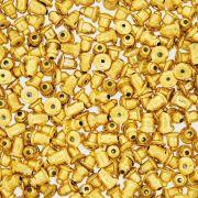Tarraxa Bala Dourada - 6mm - 100pçs