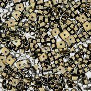 Tarraxa Borboleta Ouro Velho - 5mm - 100pçs