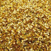 Terminal - Dourado - 3mm x 3mm - 100pçs