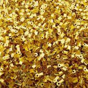 Terminal - Dourado - 4mm x 3mm - 100pçs