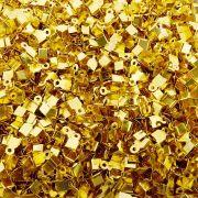 Terminal - Dourado - 5mm x 6mm - 100pçs