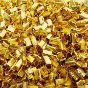 Terminal - Dourado - 6mm x 10mm - 100pçs