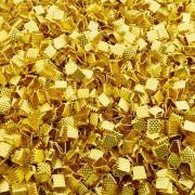Terminal - Dourado - 7mm x 8mm - 100pçs