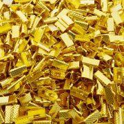 Terminal - Dourado - 8mm x 13mm - 100pçs