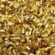 Terminal - Dourado - 8mm x 5mm - 100pçs
