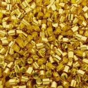 Terminal para Colagem - Dourado - 11mm x 7mm - 100pçs