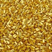 Terminal para Colagem - Dourado - 9mm x 4mm - 100pçs