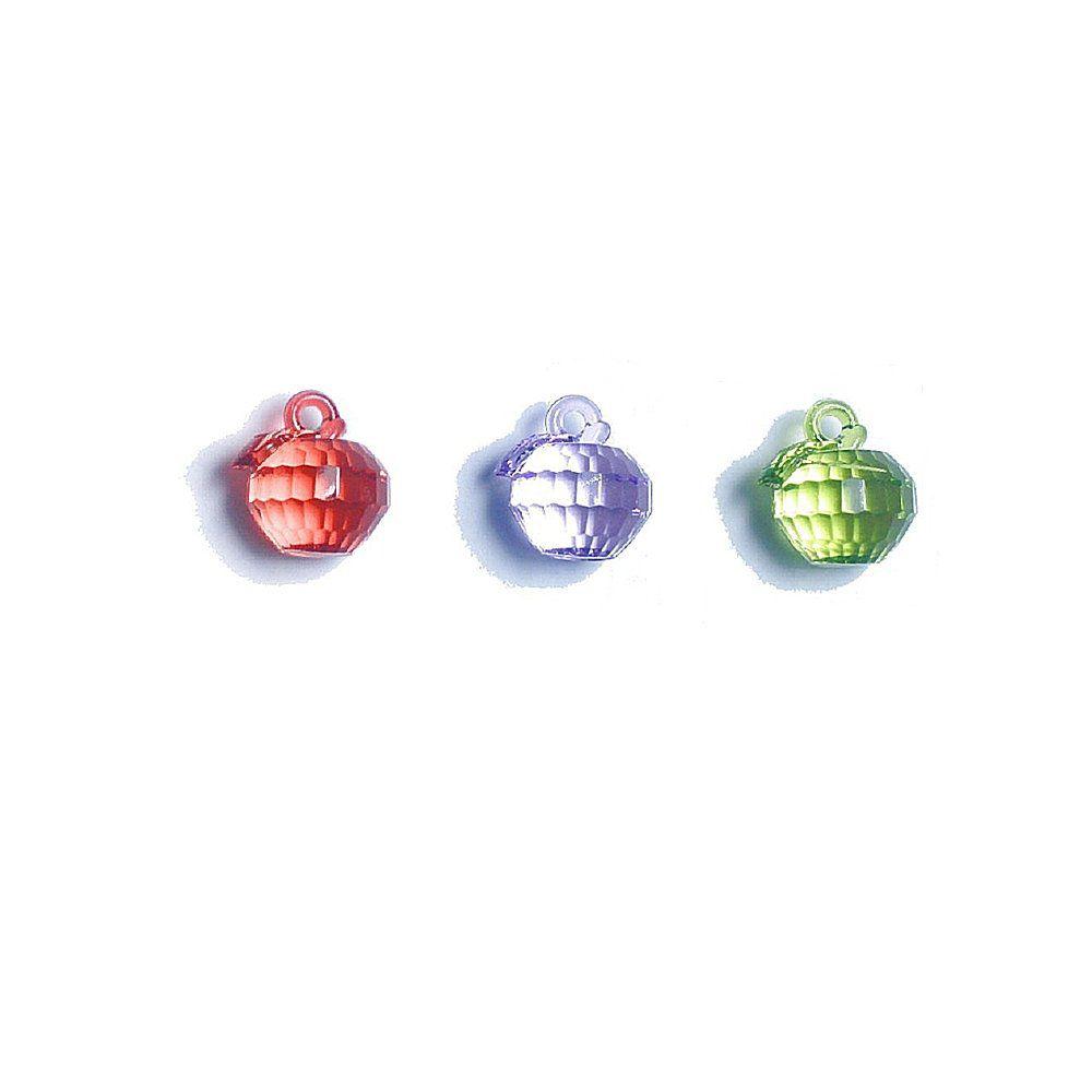 Pingente Maçã de Acrílico - 21mm  - Nathalia Bijoux®