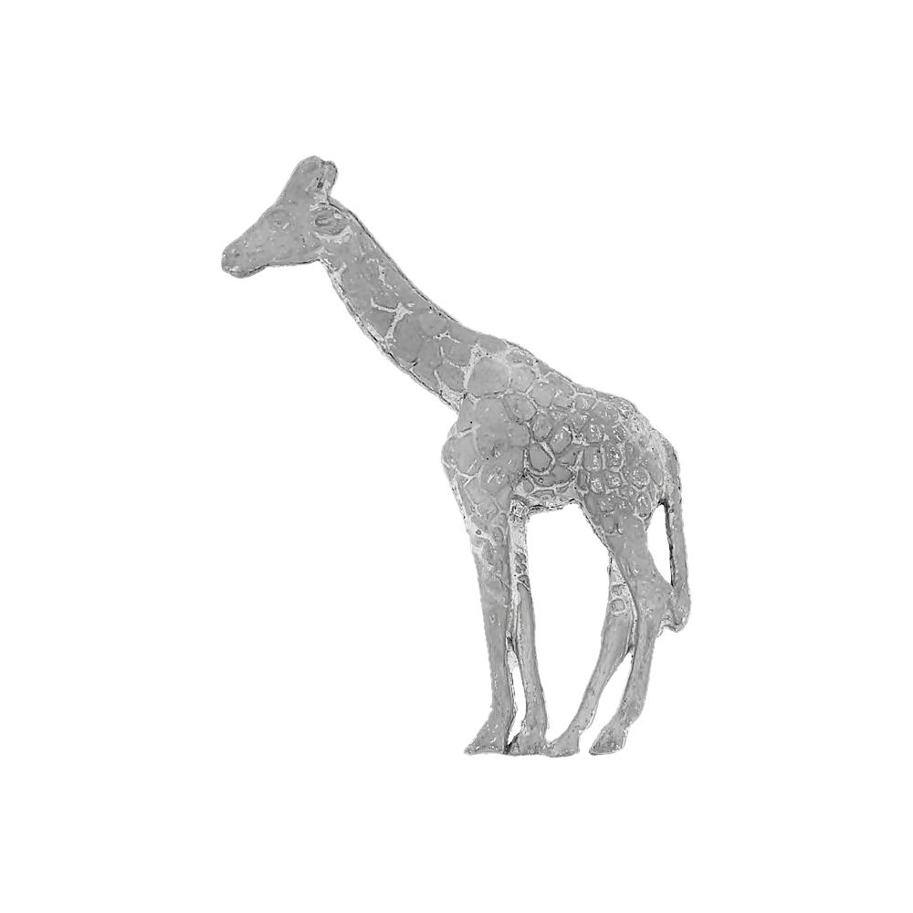 Pingente Girafa de Metal - 80mm  - Nathalia Bijoux®