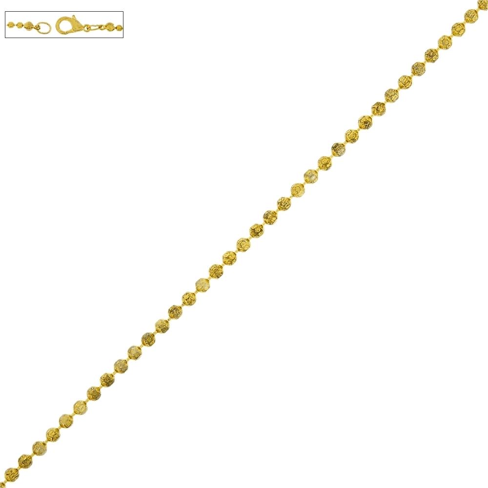 Corrente Dourada com Fecho - 42cm  - Nathalia Bijoux®