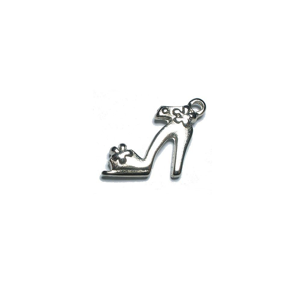 Pingente Sapatinho de Metal - 14mm  - Nathalia Bijoux®